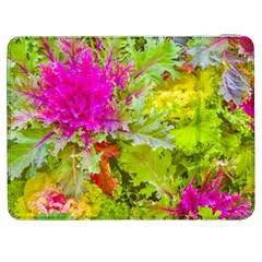 Colored Plants Photo Samsung Galaxy Tab 7  P1000 Flip Case by dflcprints