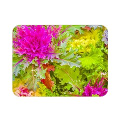 Colored Plants Photo Double Sided Flano Blanket (mini)  by dflcprints