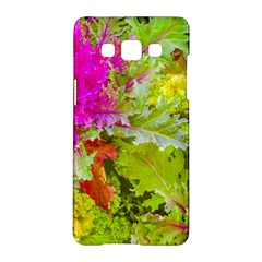 Colored Plants Photo Samsung Galaxy A5 Hardshell Case  by dflcprints