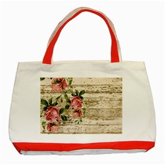 On Wood 2226067 1920 Classic Tote Bag (red) by vintage2030