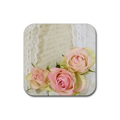 Roses 2218680 960 720 Rubber Square Coaster (4 Pack)  by vintage2030