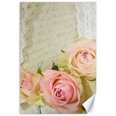 Roses 2218680 960 720 Canvas 12  X 18   by vintage2030