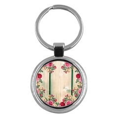 Roses 1944106 960 720 Key Chains (round)  by vintage2030