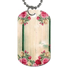 Roses 1944106 960 720 Dog Tag (two Sides) by vintage2030