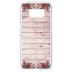 On Wood 1975944 1920 Samsung Galaxy S8 White Seamless Case by vintage2030