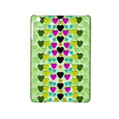 Summer Time In Lovely Hearts Ipad Mini 2 Hardshell Cases by pepitasart