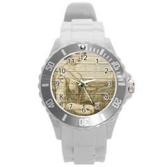 Lady 2523423 1920 Round Plastic Sport Watch (l) by vintage2030
