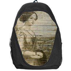 Lady 2523423 1920 Backpack Bag by vintage2030