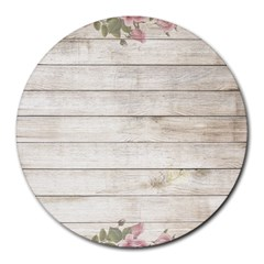 On Wood 2188537 1920 Round Mousepads by vintage2030
