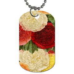 Flowers 1776429 1920 Dog Tag (one Side) by vintage2030