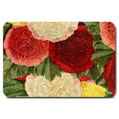 Flowers 1776429 1920 Large Doormat  by vintage2030