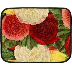 Flowers 1776429 1920 Fleece Blanket (mini) by vintage2030