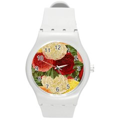 Flowers 1776429 1920 Round Plastic Sport Watch (m) by vintage2030