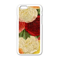 Flowers 1776429 1920 Apple Iphone 6/6s White Enamel Case by vintage2030