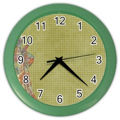 Background 1619142 1920 Color Wall Clocks by vintage2030