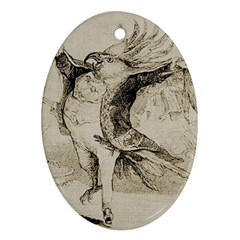 Bird 1515866 1280 Ornament (oval) by vintage2030