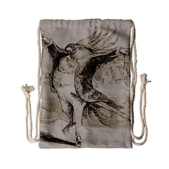Bird 1515866 1280 Drawstring Bag (small) by vintage2030