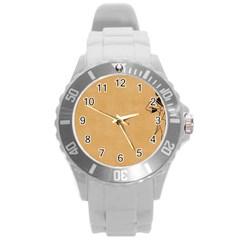 Flapper 1515869 1280 Round Plastic Sport Watch (l) by vintage2030