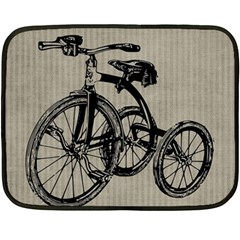 Tricycle 1515859 1280 Double Sided Fleece Blanket (mini)  by vintage2030