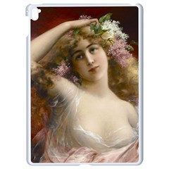 Victorian Lady In Pink Apple Ipad Pro 9 7   White Seamless Case by vintage2030