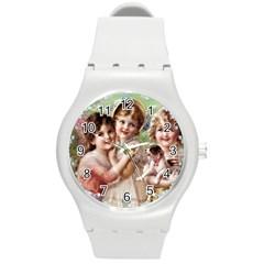 Vintage 1501556 1920 Round Plastic Sport Watch (m) by vintage2030