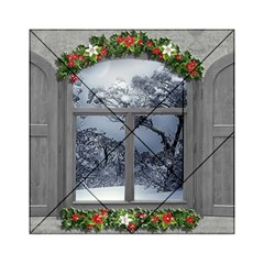 Winter 1660924 1920 Acrylic Tangram Puzzle (6  X 6 ) by vintage2030