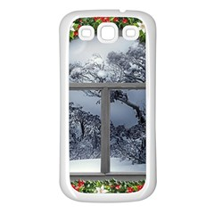 Winter 1660924 1920 Samsung Galaxy S3 Back Case (white) by vintage2030