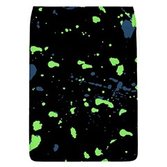 Dark Splatter Abstract Flap Covers (s)  by dflcprints