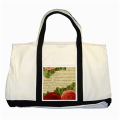 Flowers 1776422 1920 Two Tone Tote Bag by vintage2030
