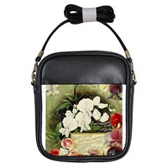 Flowers 1776617 1920 Girls Sling Bags by vintage2030