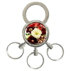 Flowers 1776585 1920 3 Ring Key Chains by vintage2030