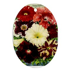 Flowers 1776585 1920 Oval Ornament (two Sides) by vintage2030