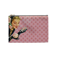 Vintage Lady Cosmetic Bag (medium)  by vintage2030