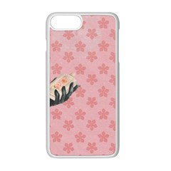 Vintage Lady Apple Iphone 8 Plus Seamless Case (white)