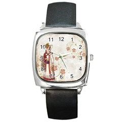 Background 1775358 1920 Square Metal Watch by vintage2030