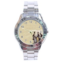 Background 1775359 1920 Stainless Steel Analogue Watch by vintage2030