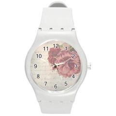 Background 1775373 1920 Round Plastic Sport Watch (m) by vintage2030