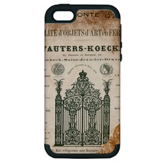 Building News Apple Iphone 5 Hardshell Case (pc+silicone) by vintage2030