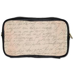 Letter Toiletries Bags