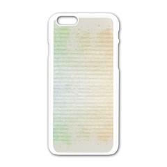 Page Spash Apple Iphone 6/6s White Enamel Case by vintage2030