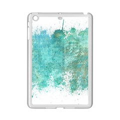 Splash Teal Ipad Mini 2 Enamel Coated Cases by vintage2030