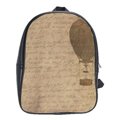 Letter Balloon School Bag (large) by vintage2030