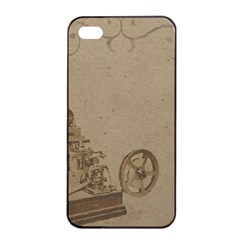 Camera Old Apple Iphone 4/4s Seamless Case (black) by vintage2030