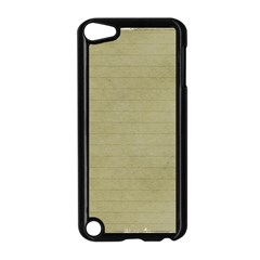 Old Letter Apple Ipod Touch 5 Case (black) by vintage2030