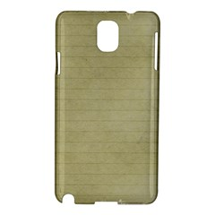 Old Letter Samsung Galaxy Note 3 N9005 Hardshell Case by vintage2030