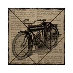 Bicycle Letter Acrylic Tangram Puzzle (6  X 6 ) by vintage2030