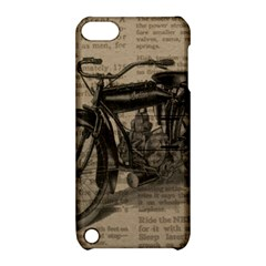 Bicycle Letter Apple Ipod Touch 5 Hardshell Case With Stand by vintage2030