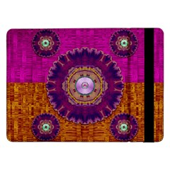 Viva Summer Time In Fauna Samsung Galaxy Tab Pro 12 2  Flip Case by pepitasart