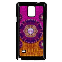 Viva Summer Time In Fauna Samsung Galaxy Note 4 Case (black) by pepitasart