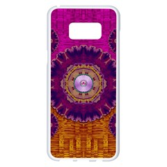 Viva Summer Time In Fauna Samsung Galaxy S8 Plus White Seamless Case by pepitasart